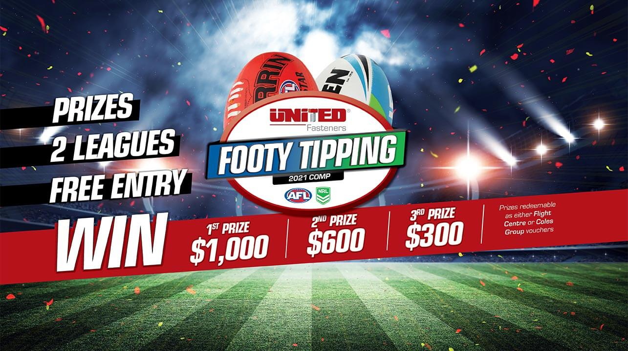 Join our Footy Tipping Comp